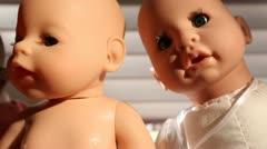 Dolls Stock Footage