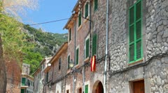 Valldemossa village, Mallorca Stock Footage