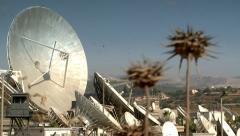 Satellite Radars Station 5 Stock Footage