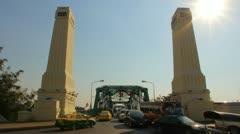 Memorial Bridge Stock Footage