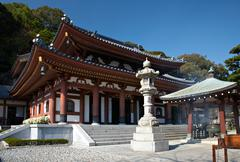 Stock Photo of hase temple