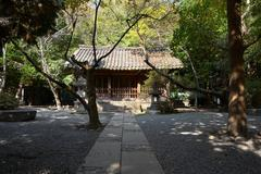Stock Photo of building on the territory kotokuin temple, kamakura, japan