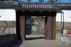 Oriental gates Stock Photos