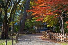 japanese tea house - stock photo
