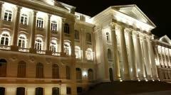 Public university building in Curitiba, Brazil Stock Footage