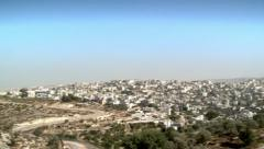 View of East Jerusalem 3 Stock Footage