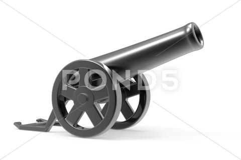 Stock Illustration of cannon