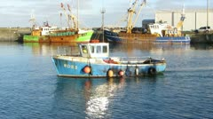 Fishing Boat 5 Stock Footage