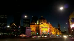 Melbourne timelapse - stock footage