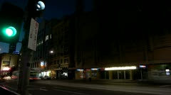 CIty lights Stock Footage