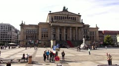Berlin Footage, Gendarmenmarkt Stock Footage