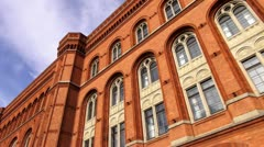 Berlin Footage, Rotes Rathaus - stock footage