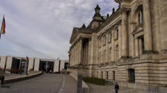 Berlin Footage, Bundestag, Regierung, Reichstag Stock Footage