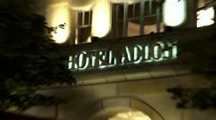 Berlin Footage, Hotel Adlon Stock Footage