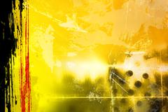 Abstract yellow Stock Photos