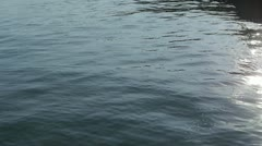 Water surface.sea ocean. - stock footage