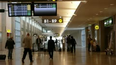 Israel Airport 7 Stock Footage