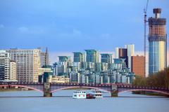 london skylines - stock photo