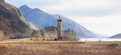 jacobite monument scotland - stock photo