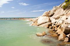 horseshoe bay, south australia - stock photo
