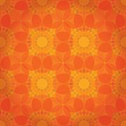 Oranssi abstrakti kukka tausta Piirros