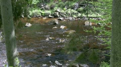 River Tees near High Force Stock Footage