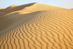 Sand dunes Stock Photos