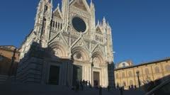 Dome,Siena,Tuscany,Italy. Stock Footage