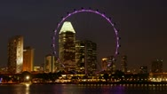 Stock Video Footage of SIngapore Flyer, #2
