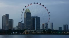SIngapore Flyer, #3 - stock footage