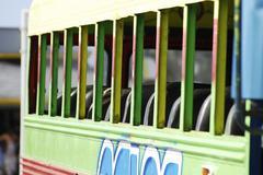 Colorful bus Stock Photos