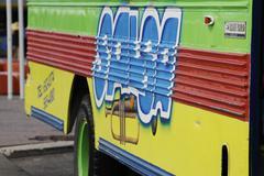 Schoolbus - stock photo