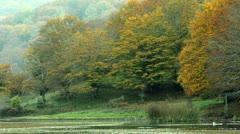 Mountain Lake - stock footage