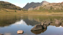 Blea Tarn and Langdale Pikes-2 Stock Footage