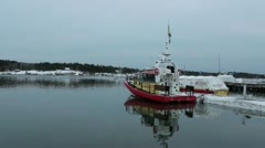 SAR-boat Stock Footage