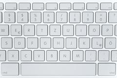 Modern Laptop Keyboard Stock Photos
