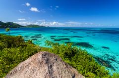 Caribbean Sea View - stock photo
