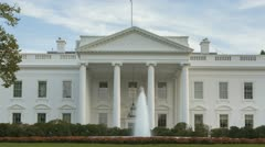Time lapse of the White House Stock Footage