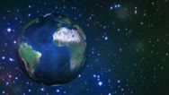 Stock Video Footage of Earth sphere