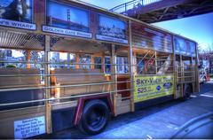 Tour Bus Stock Photos