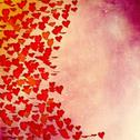 Stock Photo of valentine's day or wedding  background with hearts