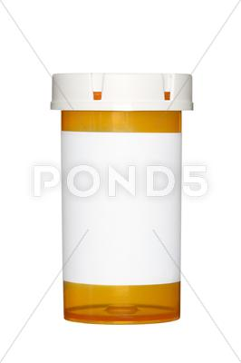 Stock photo of mediciane piil bottle