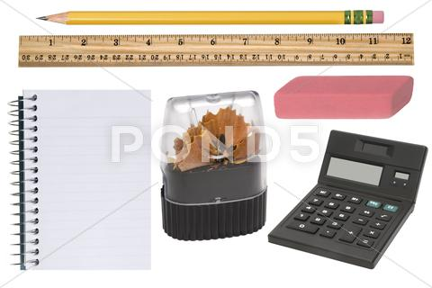 Stock photo of office supplies
