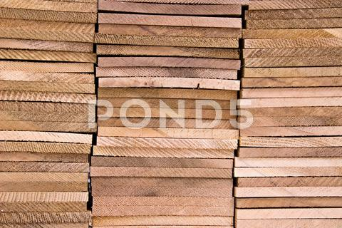 Stock photo of wooden panels