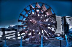 Stock Photo of Paddle Wheel