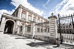 Stock Photo of the royal palace of aranjuez. madrid (spain)