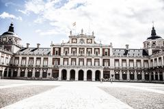 Stock Photo of the royal palace of aranjuez. madrid (spain)