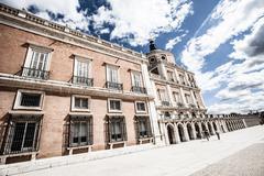 the royal palace of aranjuez. madrid (spain) - stock photo