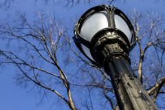 Light post - stock photo