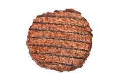 Stock Photo of hamburger patty